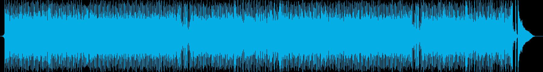 アップテンポなピアノが最高なテックハウスの再生済みの波形