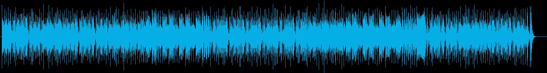 和風で楽しげな弦楽器シンセサウンドの再生済みの波形