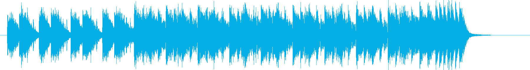躍動感ある滑らかなシンセポップジングルの再生済みの波形