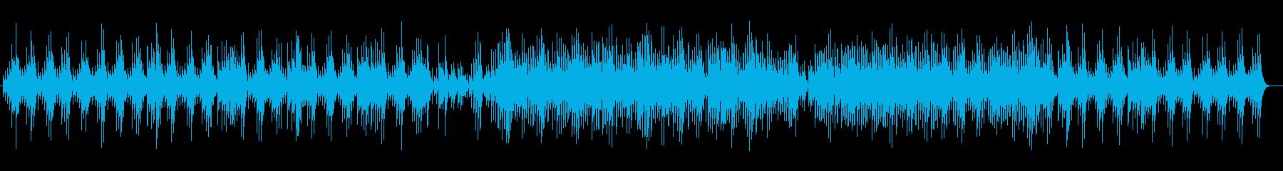 キラキラ感のある鉄琴・シンセサイザー曲の再生済みの波形
