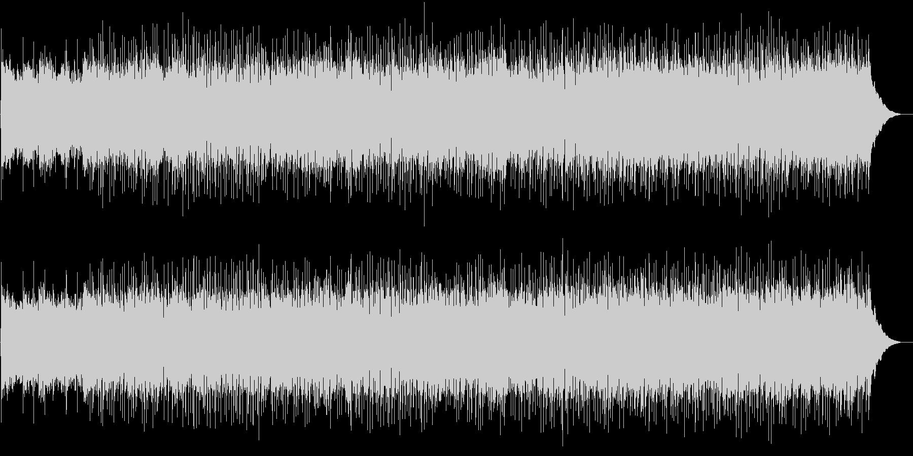 さわやかな雰囲気のBGMの未再生の波形