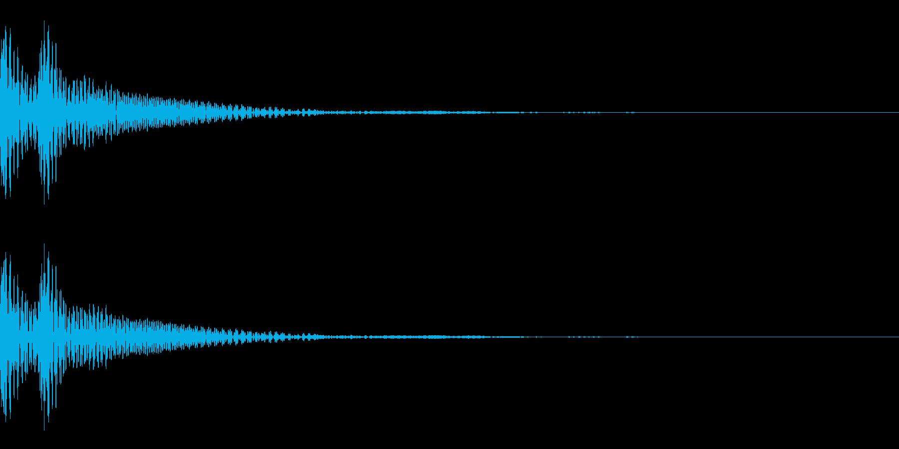 和風「ドドン」大太鼓 通常の再生済みの波形