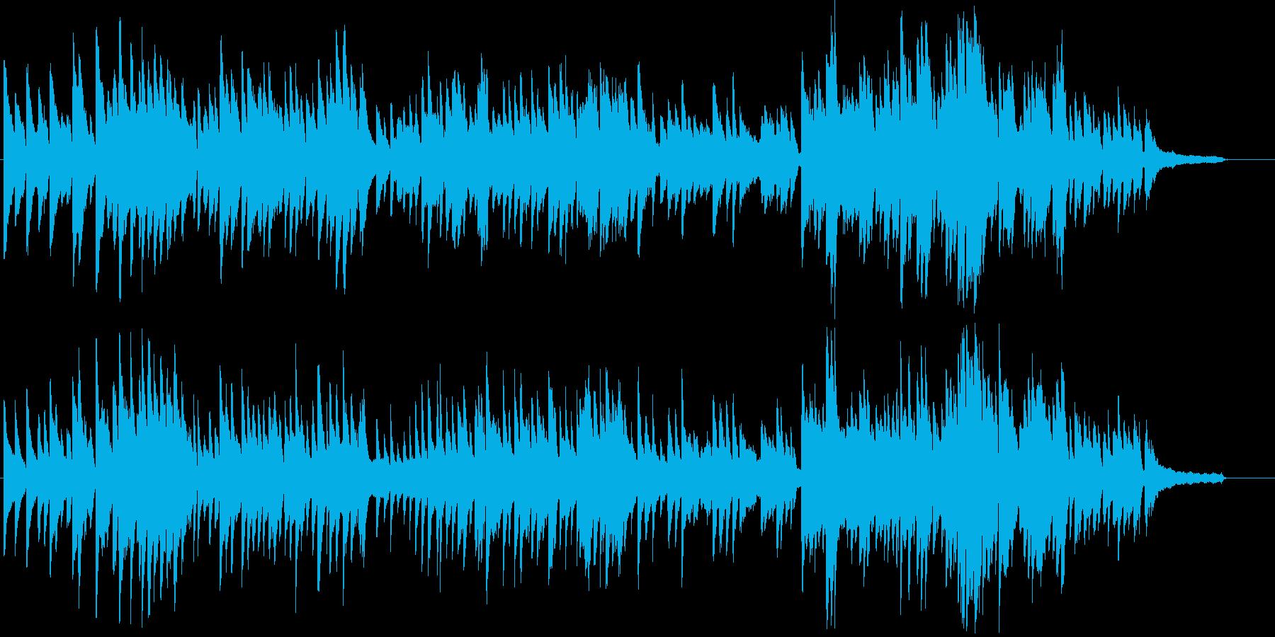 ピアノソロ 儚い 悲しいの再生済みの波形