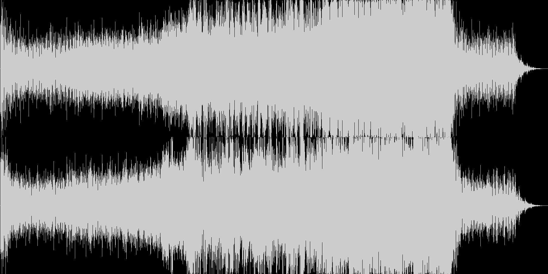 緊迫したシーンなどに合うオーケストラの未再生の波形