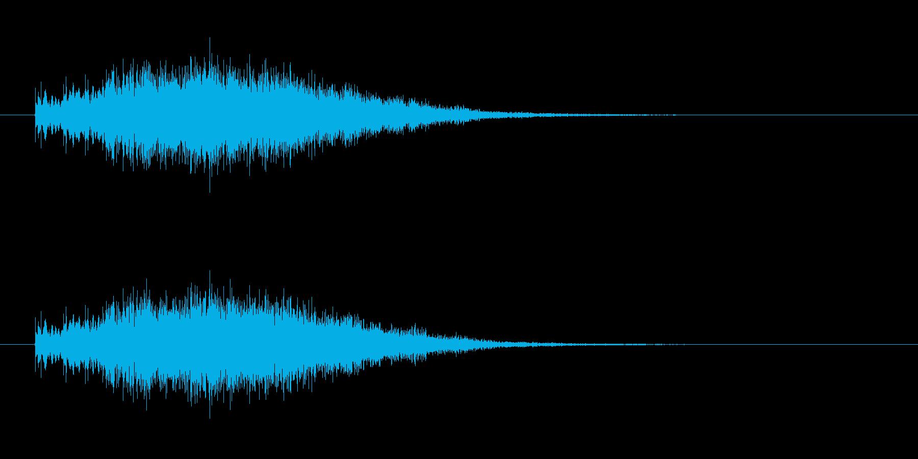 きらりん_回復の再生済みの波形