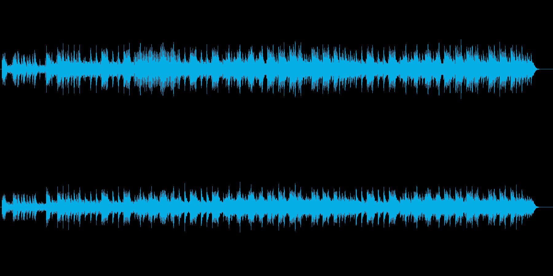 乙女座の淡き星影のオルゴールの再生済みの波形