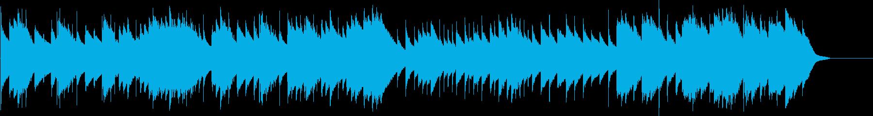 メヌエット ト長調(オルゴール)の再生済みの波形