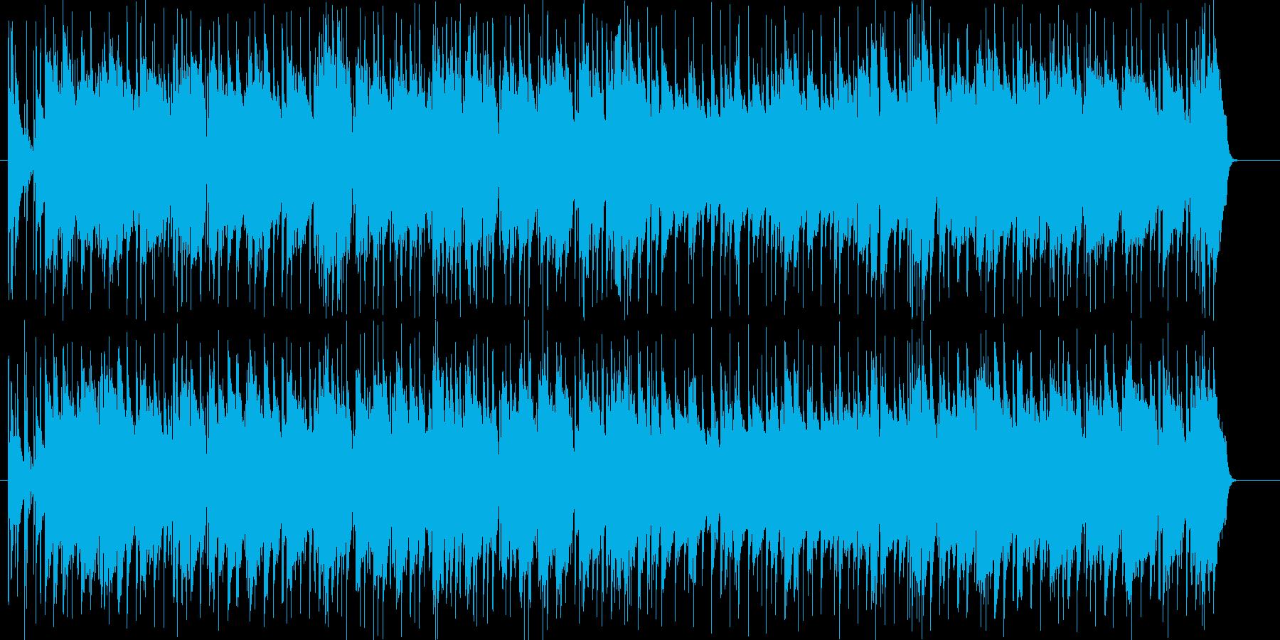 のんびりほのぼのとした日常ポップスの再生済みの波形
