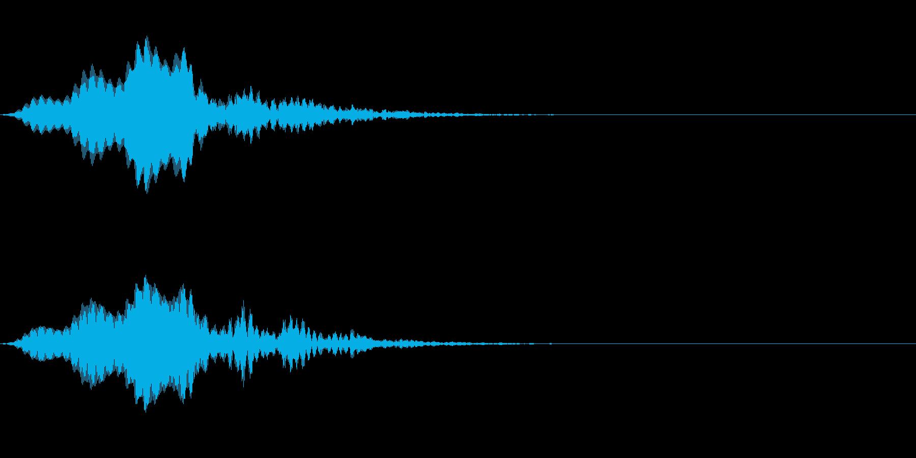 UFO、宇宙人的な音。の再生済みの波形
