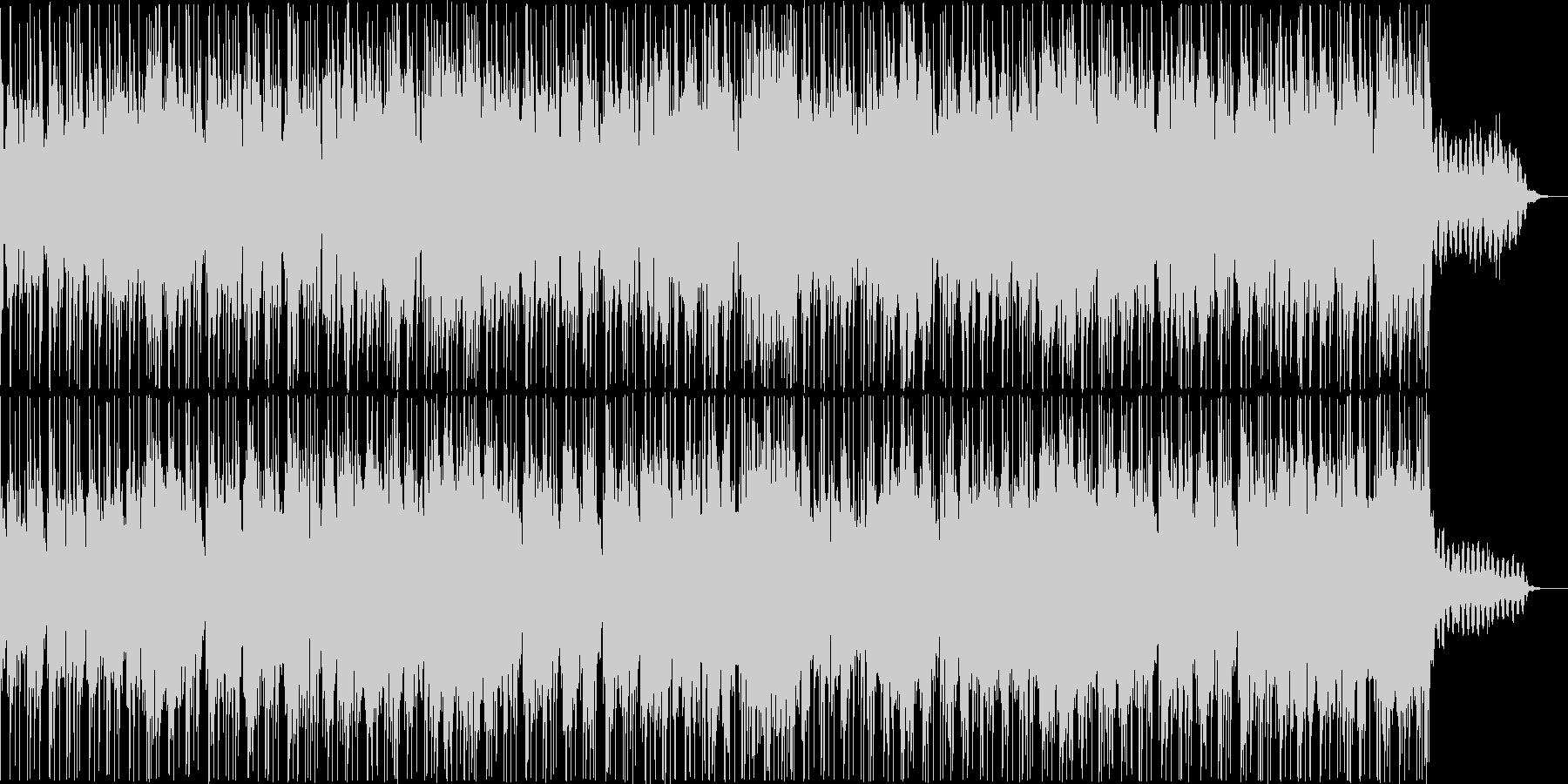ゆったりとしたギターインストの未再生の波形