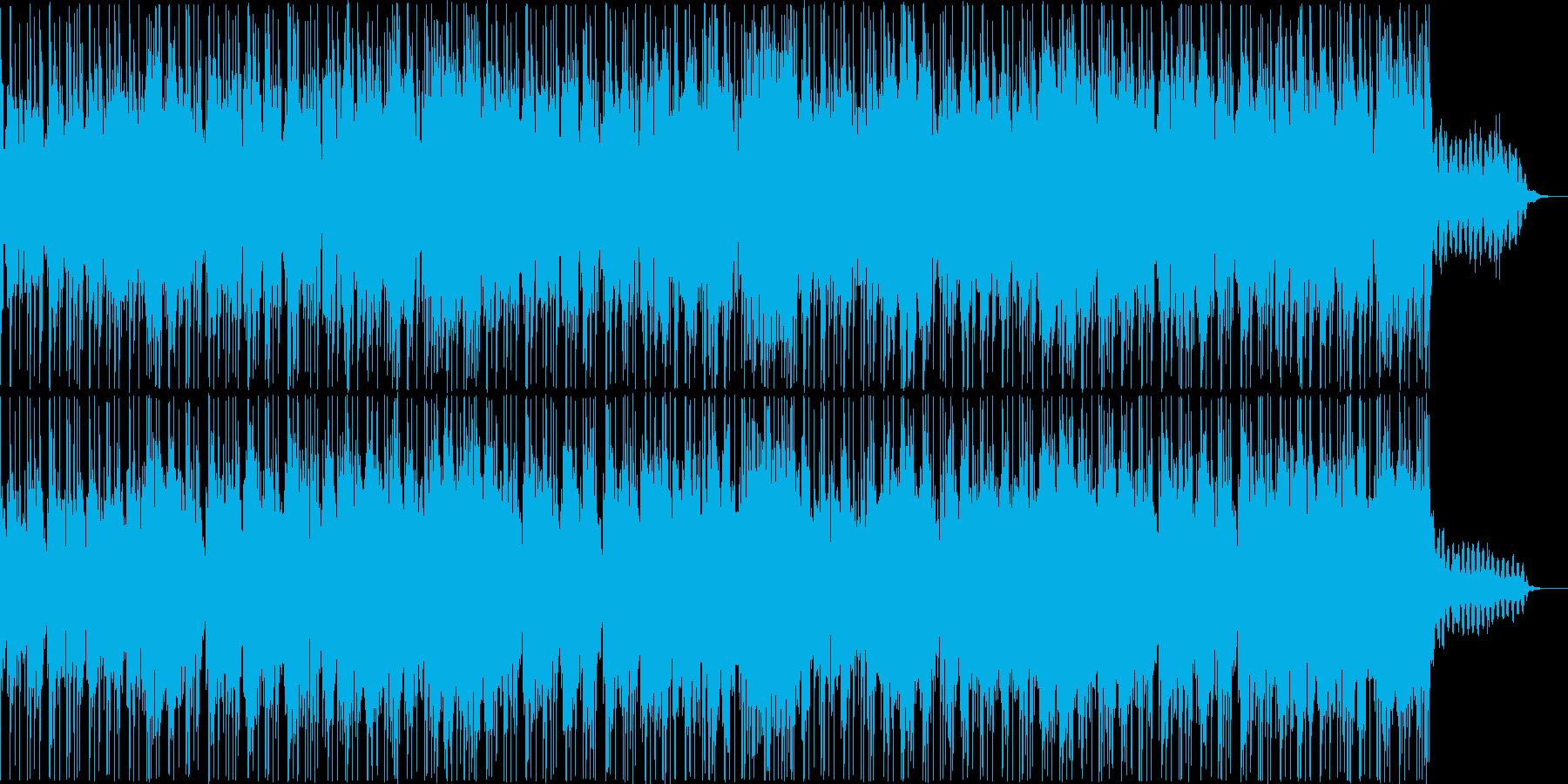 ゆったりとしたギターインストの再生済みの波形