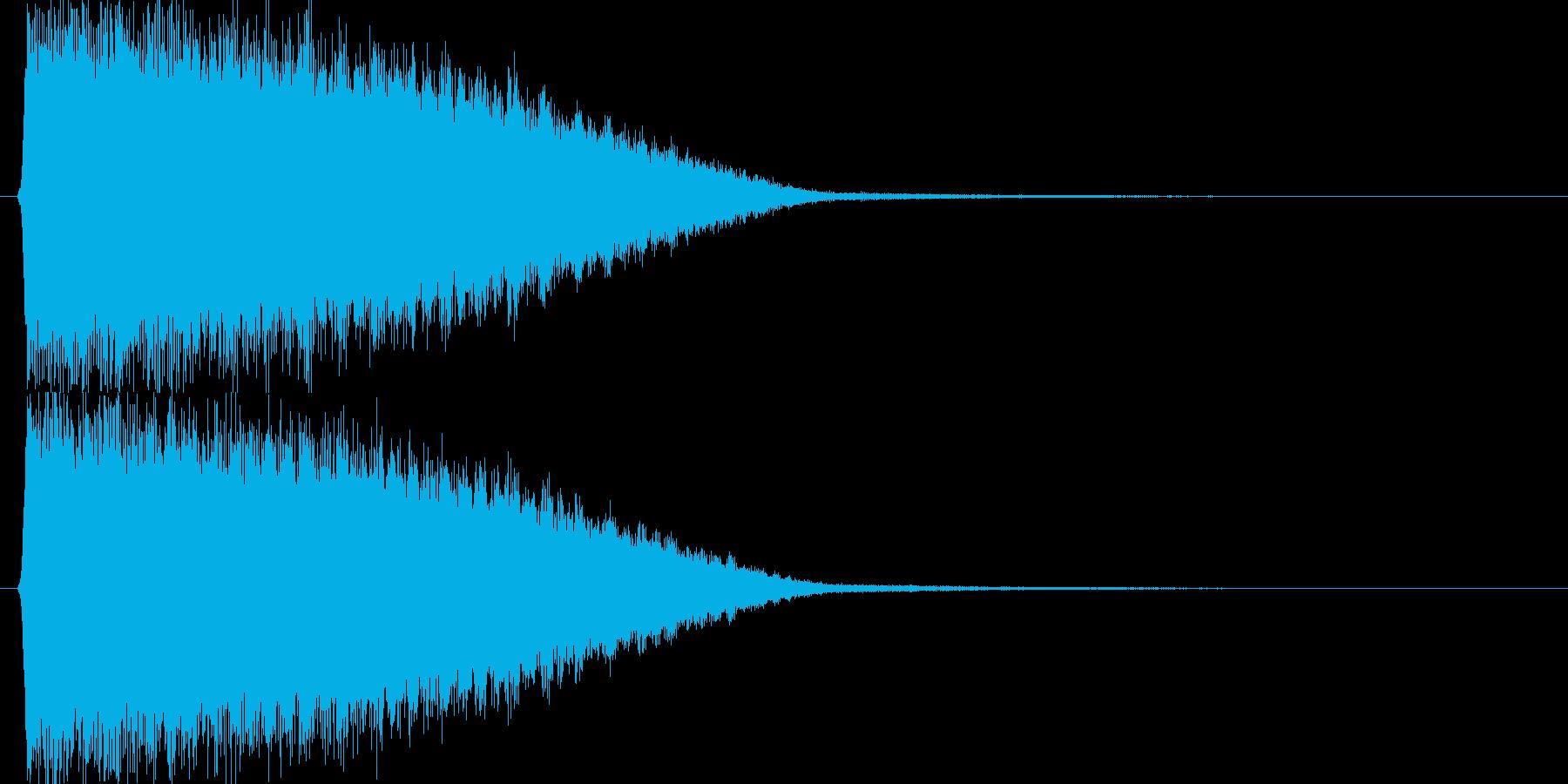 キュィィィン!(パワーアップ、技発動時)の再生済みの波形