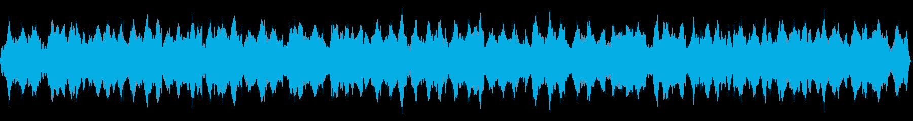 長めの幻想的なヒーリング・フィーリングの再生済みの波形