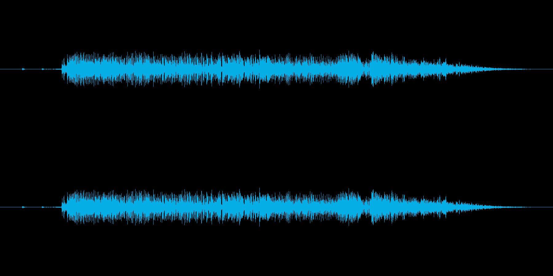 あああ〜〜〜〜〜(うめき声)の再生済みの波形