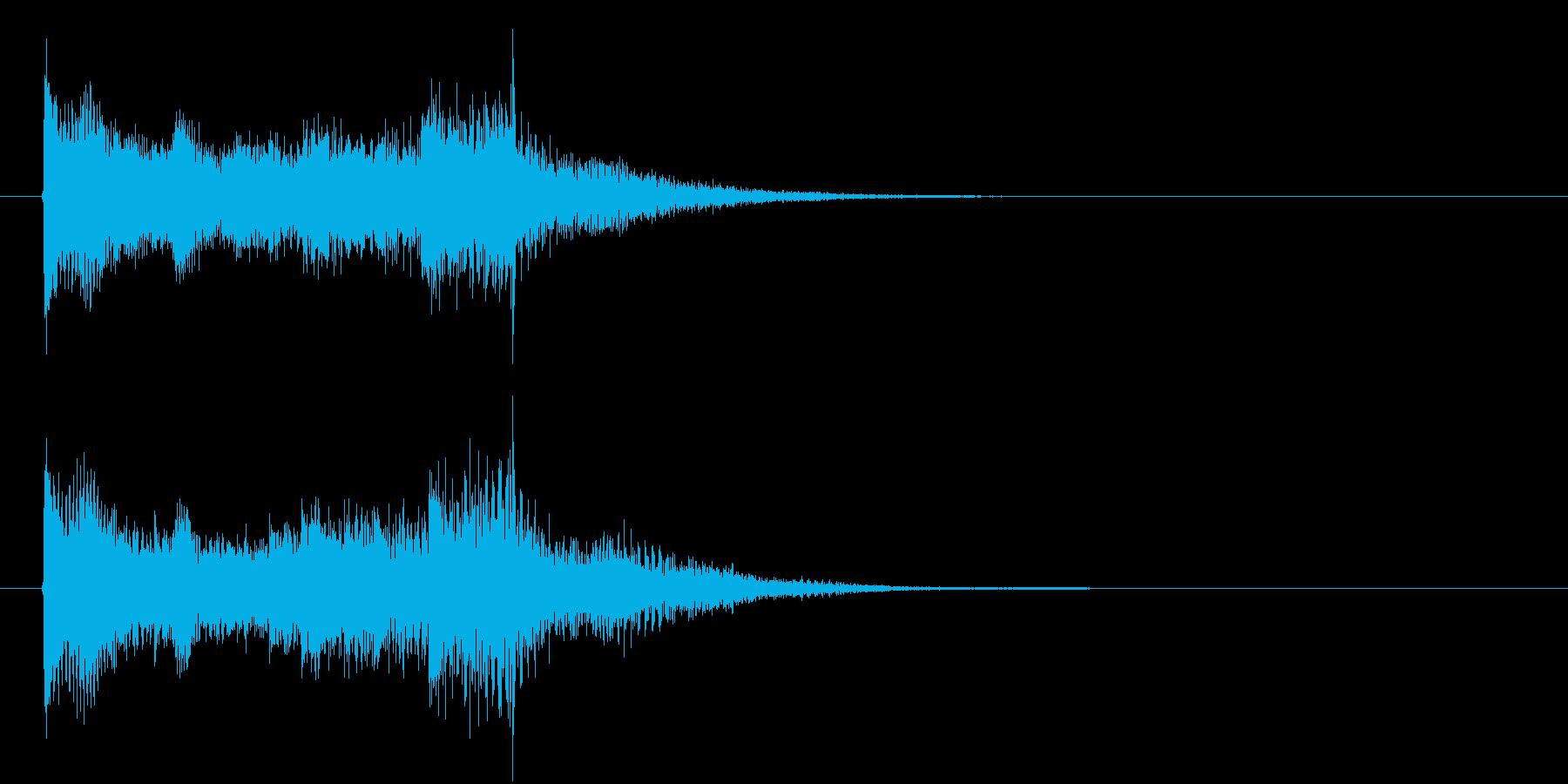 3秒タイプのサウンドロゴです。メカニカ…の再生済みの波形