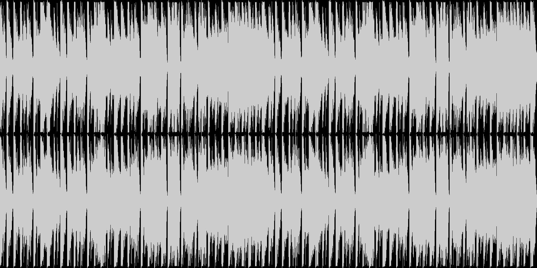 【ループ】レース1位通過のリザルトBGMの未再生の波形