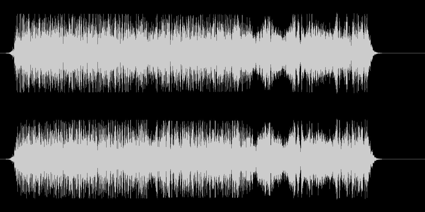 和風掛け声_コンビネーション3_Dryの未再生の波形
