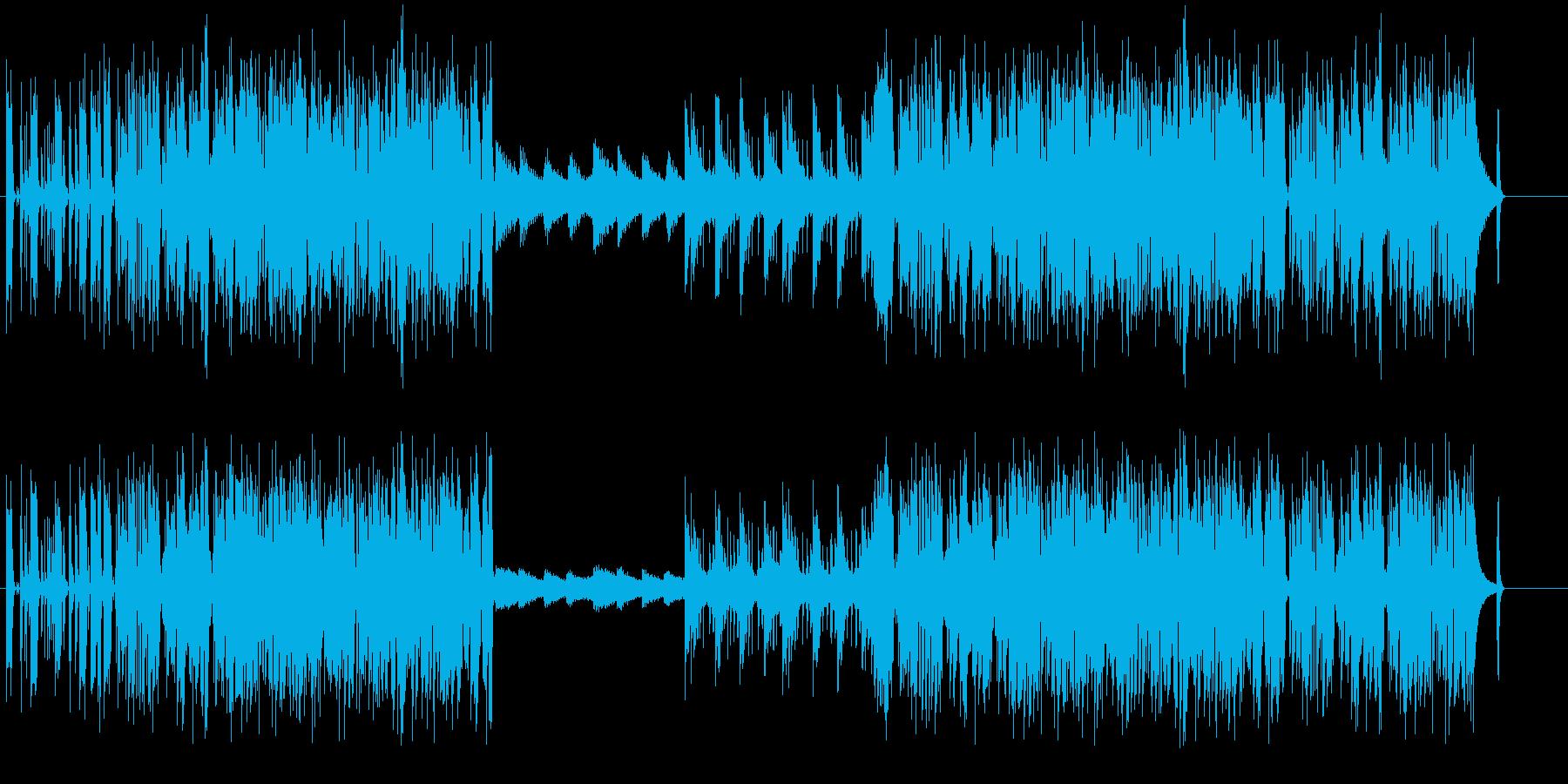 物悲しい雰囲気のJAZZの再生済みの波形