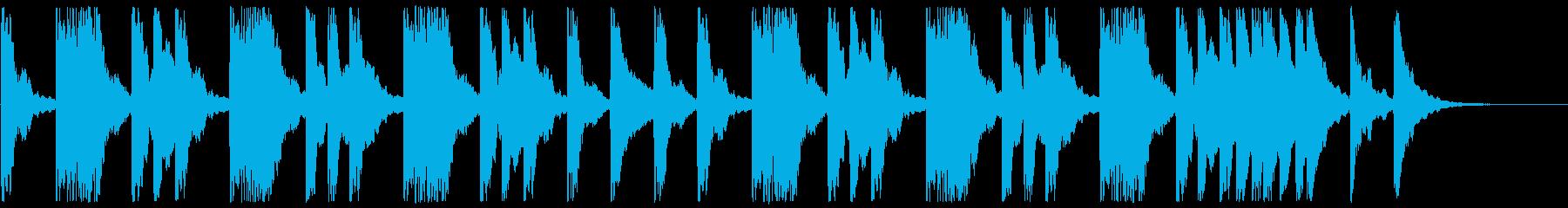 哀しみ系のピアノ曲です。の再生済みの波形