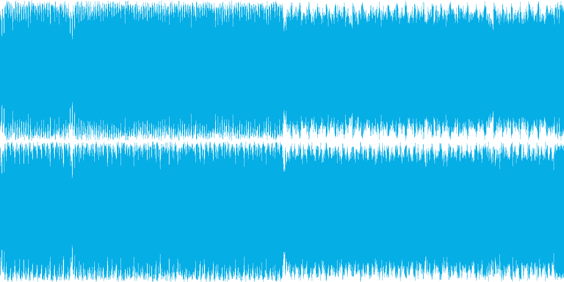 ステージ画面・戦闘ループ・シンセオケの再生済みの波形