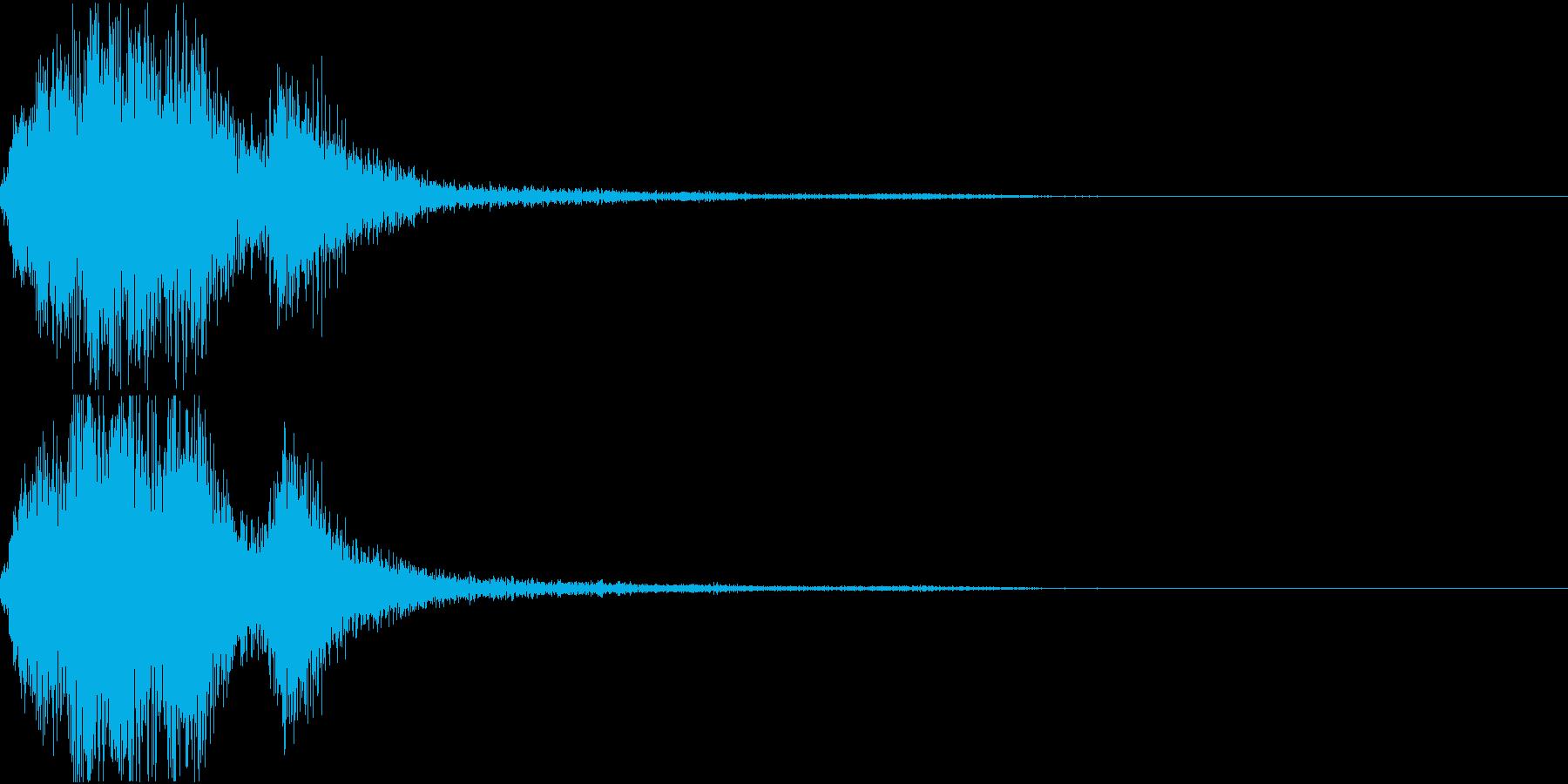 ラッパ ファンファーレ 定番 24 早いの再生済みの波形