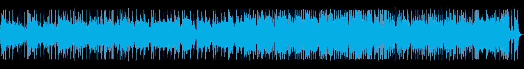 リズミカルで可愛いポップスの再生済みの波形