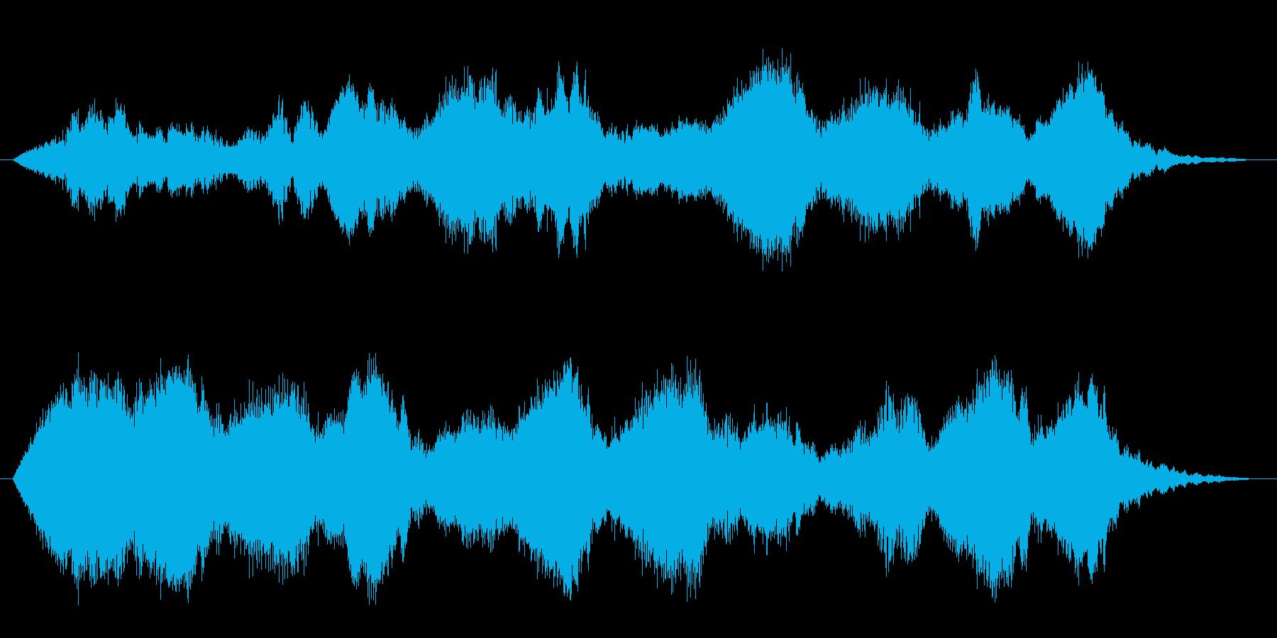 フォーンファーン(不思議、ファンタジー)の再生済みの波形