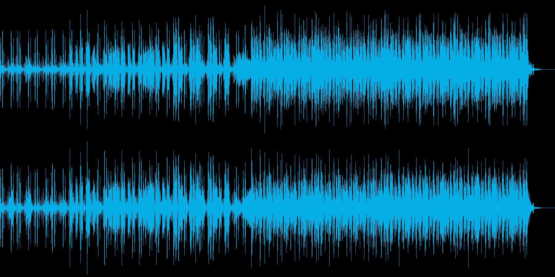 オープニングに合うリズミカルな曲です。の再生済みの波形