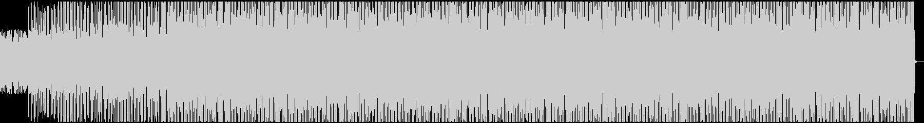 5/4拍子のダークなEDM、メタルBGMの未再生の波形