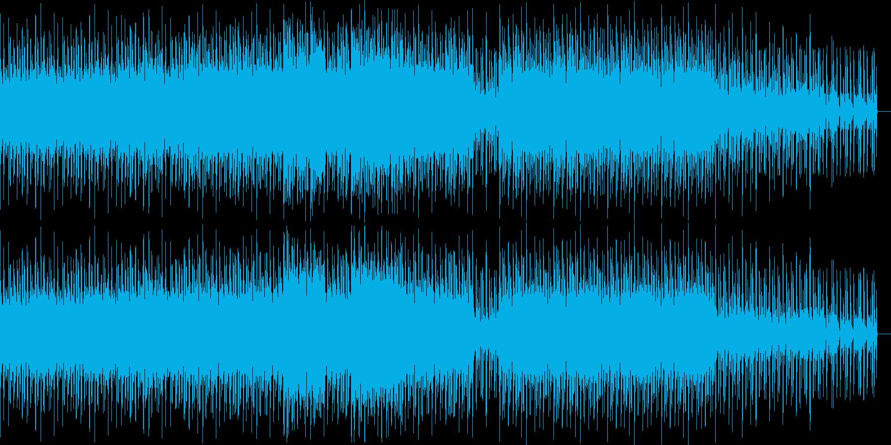 シューティングゲーム向けTrackです。の再生済みの波形