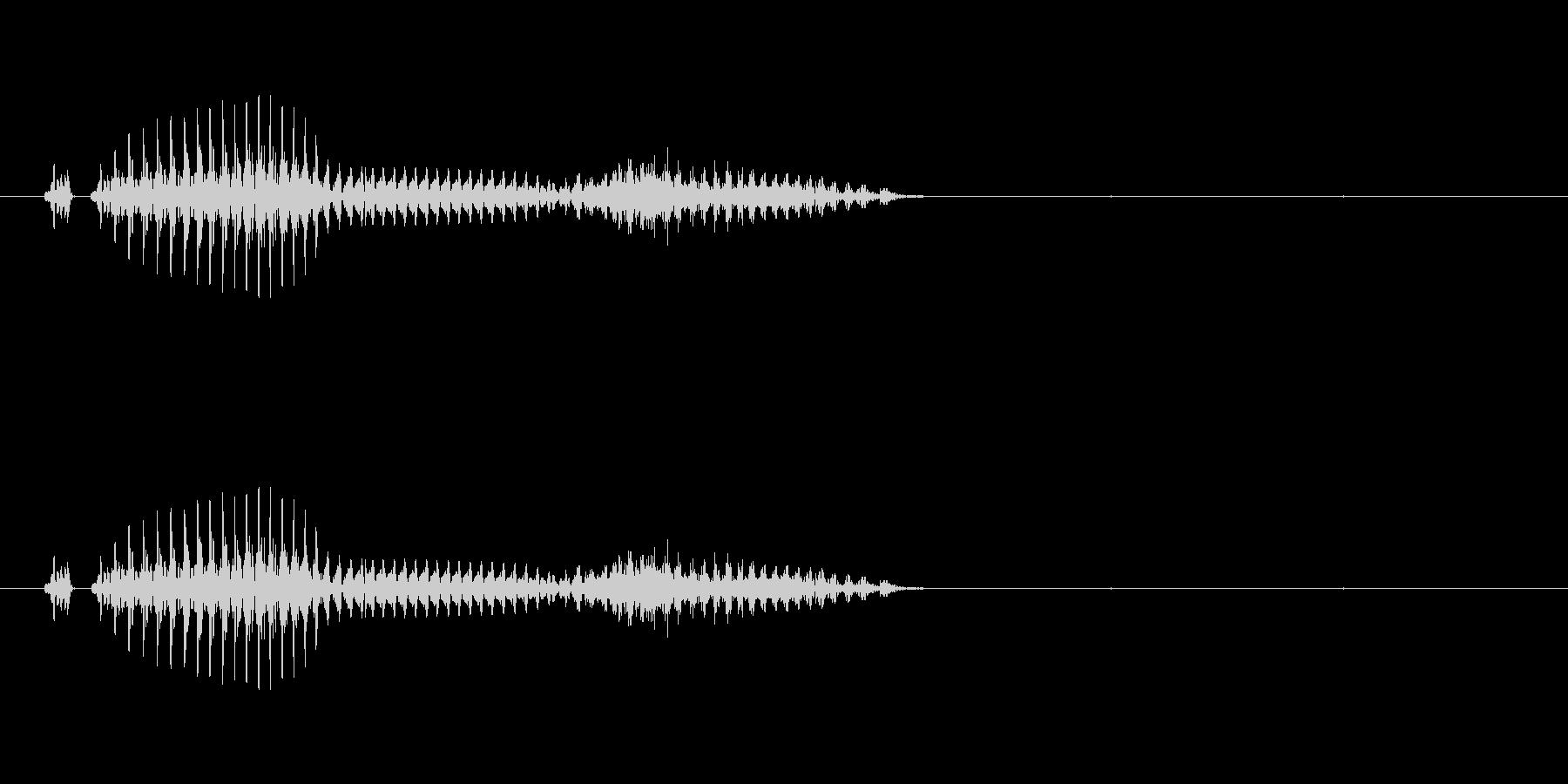 萬子(麻雀)の未再生の波形