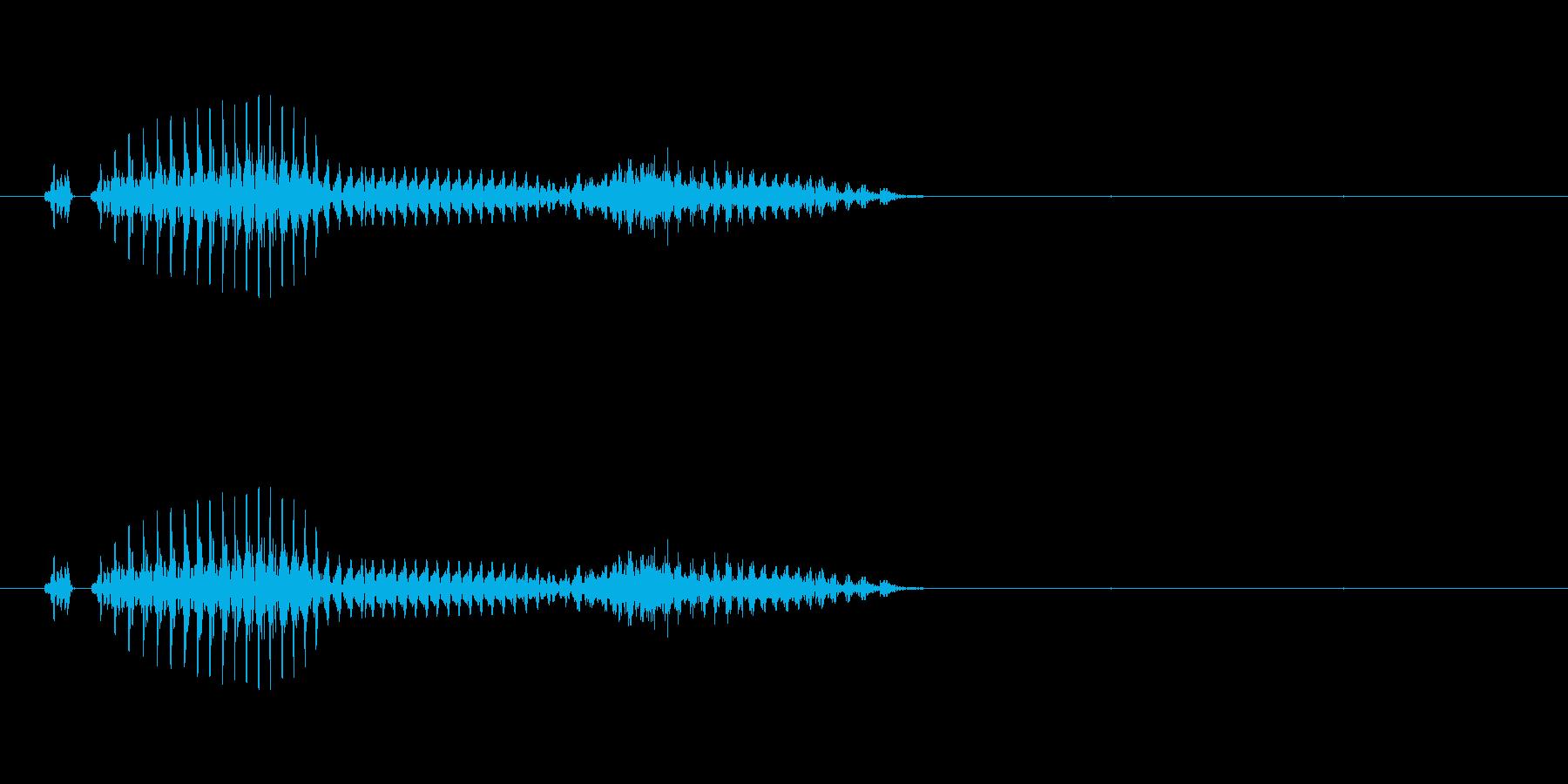 萬子(麻雀)の再生済みの波形
