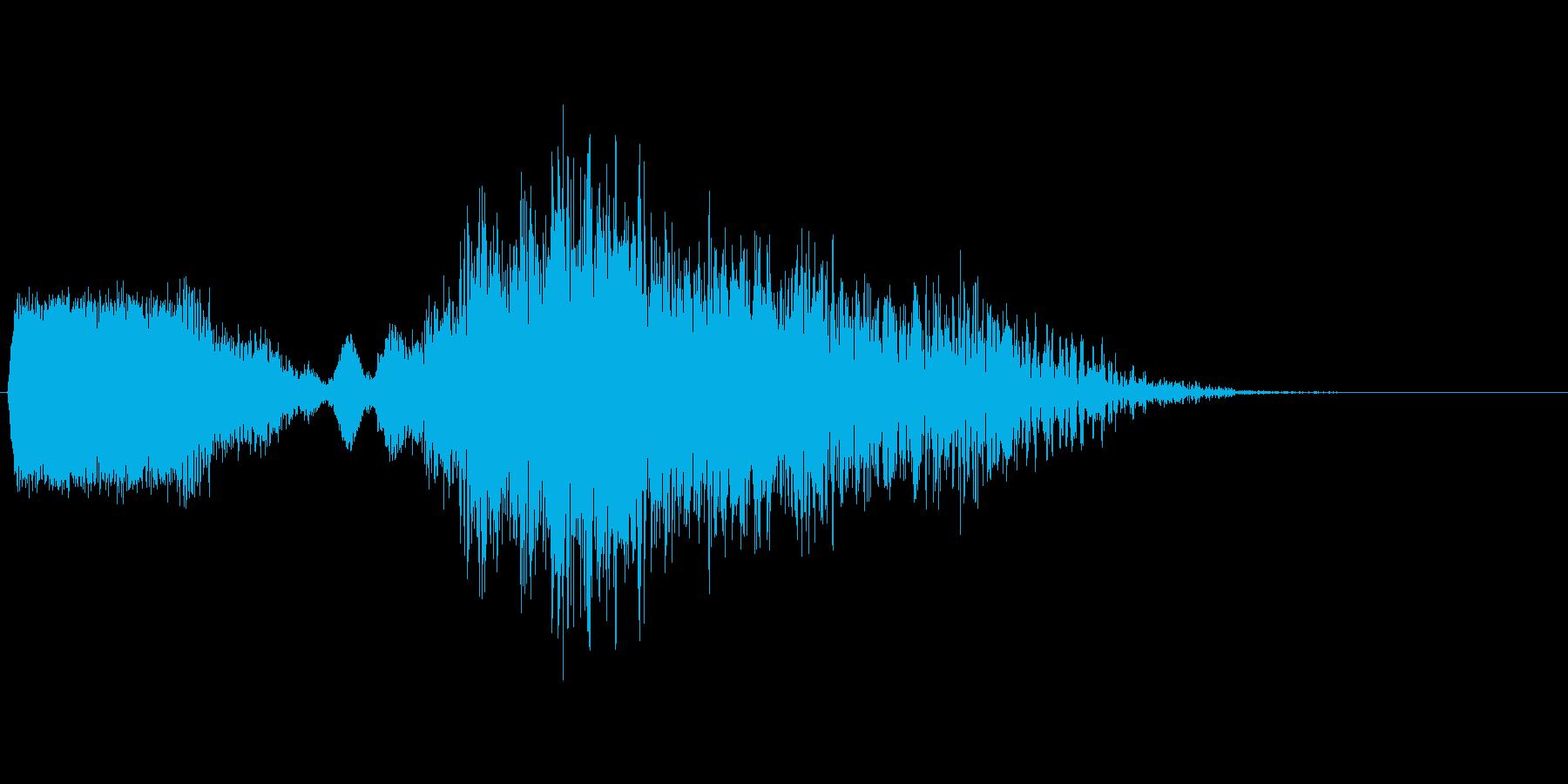 ロボットのバーニアブースト音。の再生済みの波形