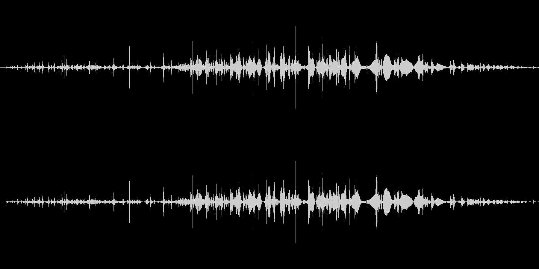 「ギリリッ」締め上げる2の未再生の波形