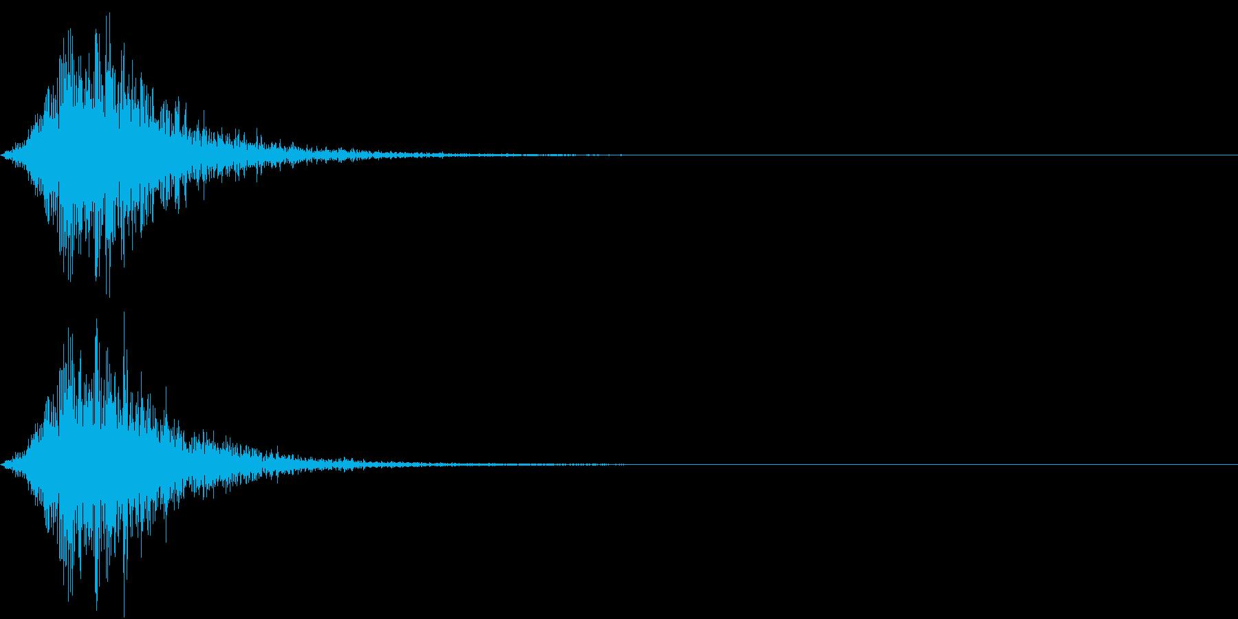 Battle 戦闘エフェクト音 8の再生済みの波形