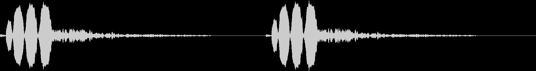 Animal 鳥のさえずり ちゅんちゅんの未再生の波形