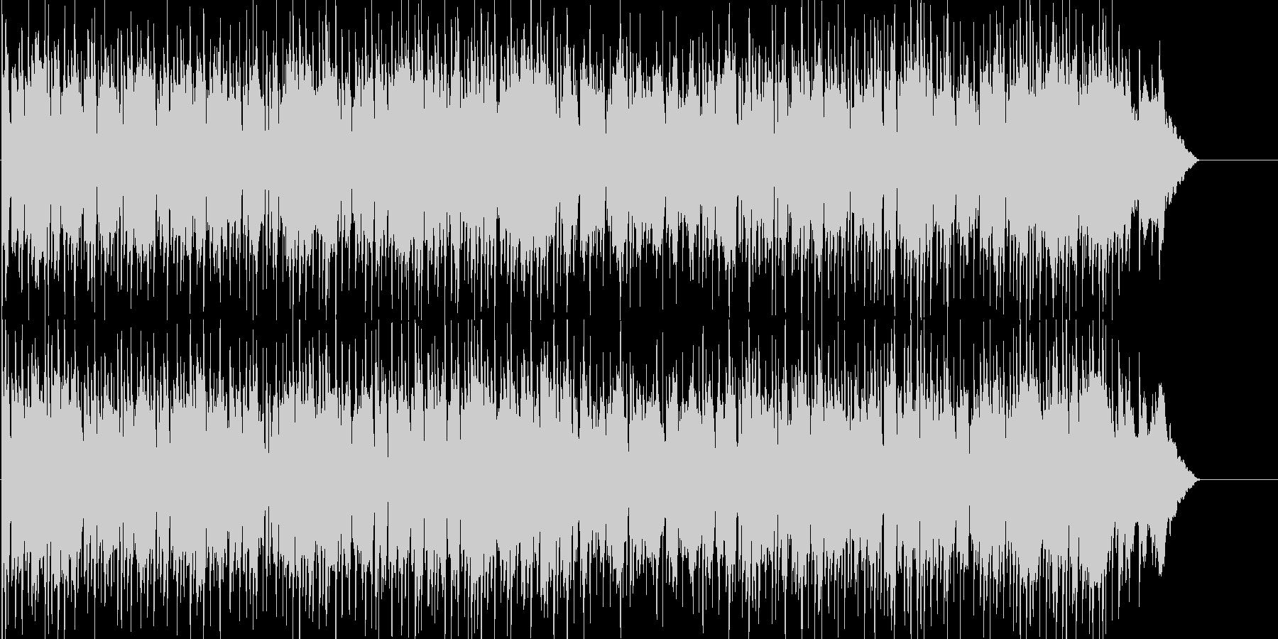 不思議な変拍子メルヘンテクノの未再生の波形