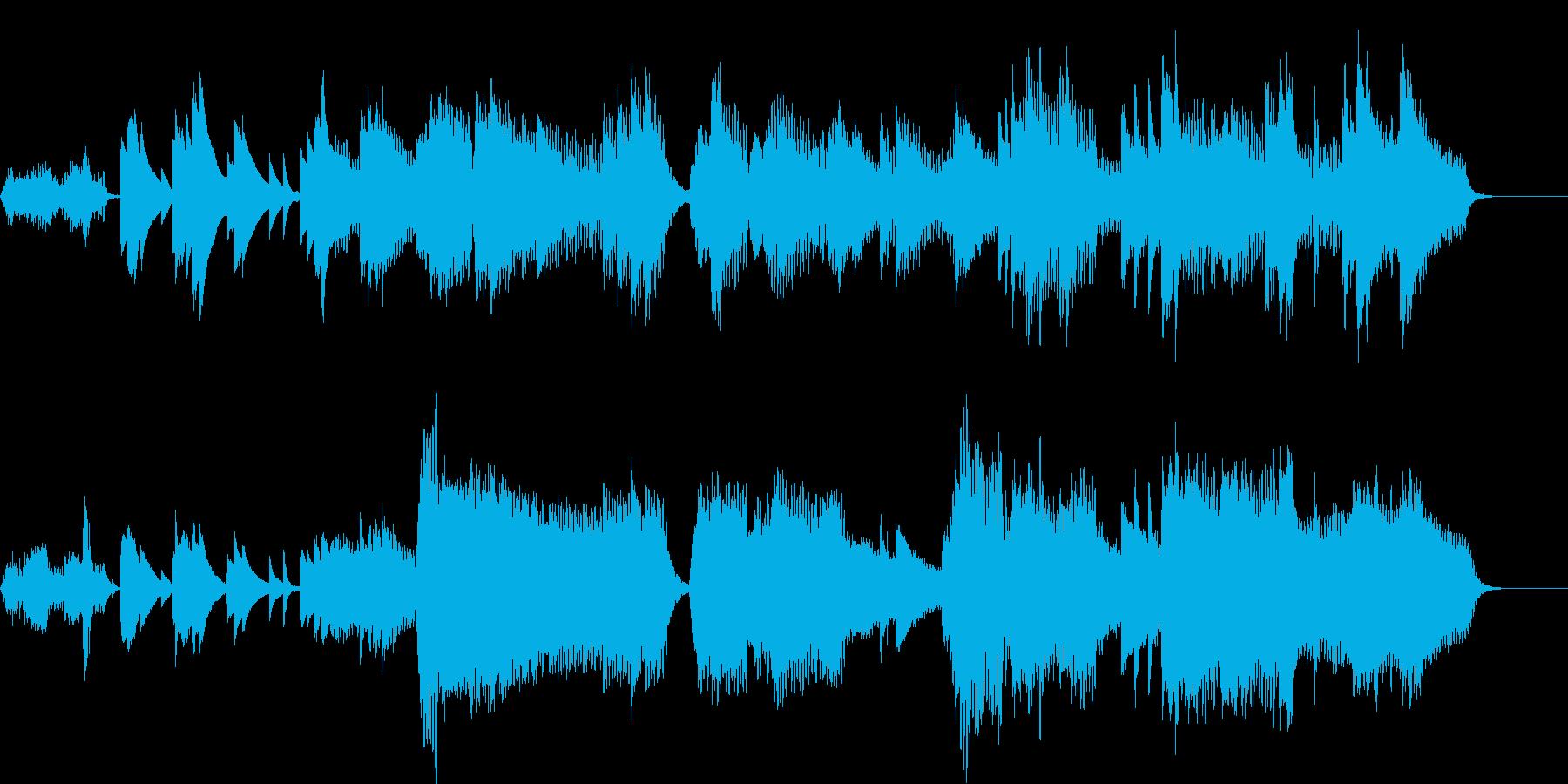 静かな始まりを予感させる曲です。の再生済みの波形