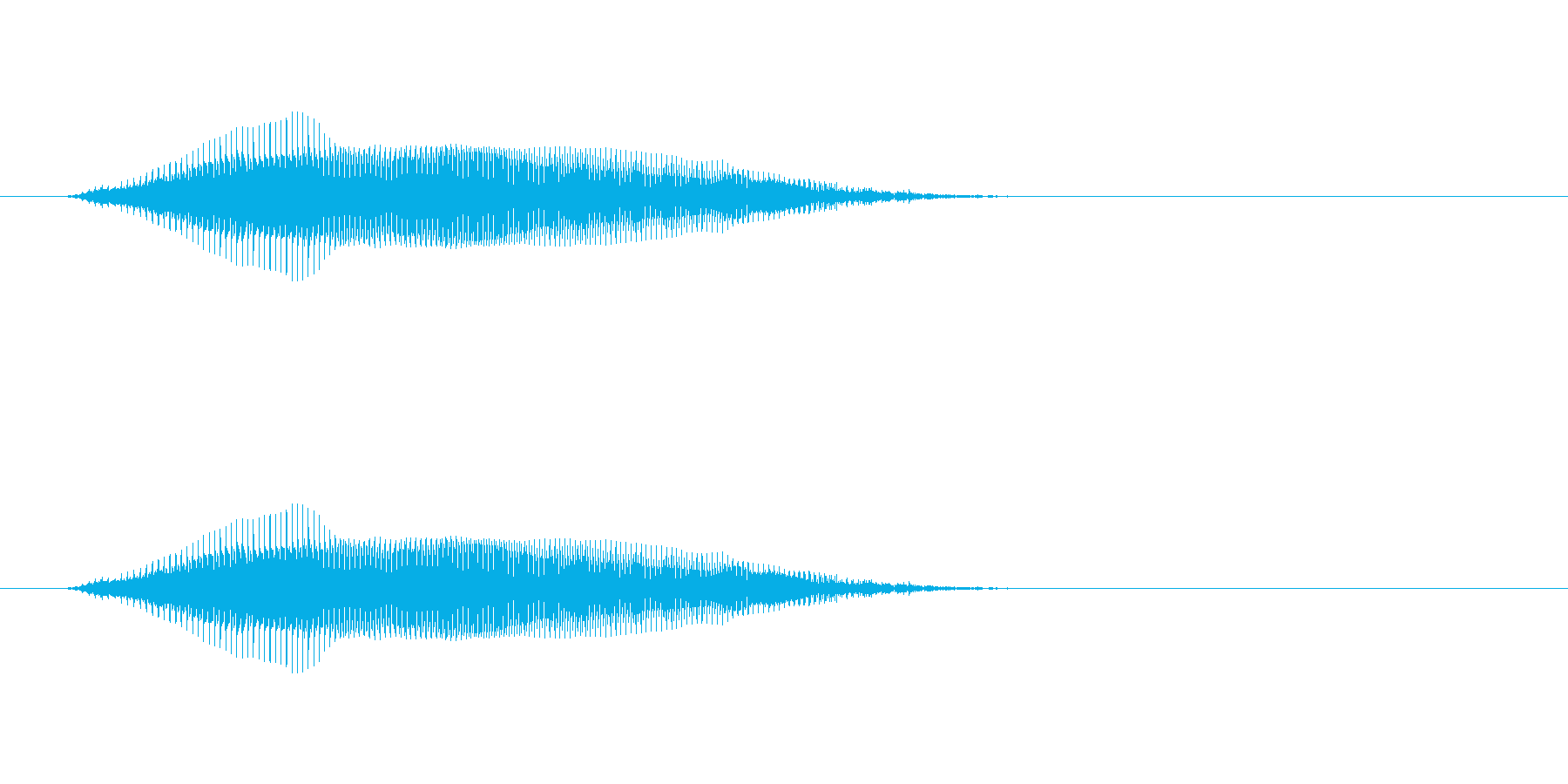 【牛 合成01-1】の再生済みの波形