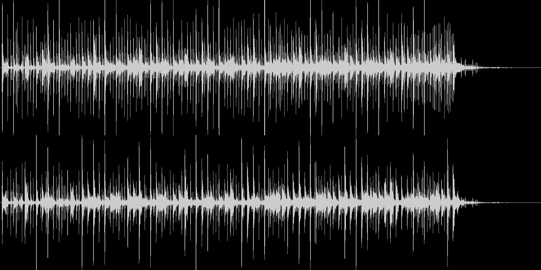 不気味で不安をあおるシーンの音楽の未再生の波形
