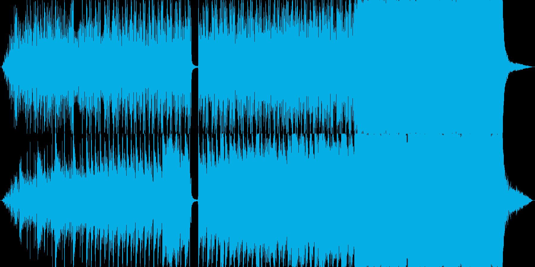 海をイメージした壮大なファンタジーロックの再生済みの波形