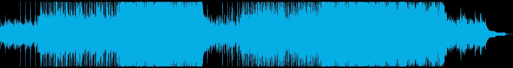 爽快感のある盛り上がり感動系ポップロックの再生済みの波形