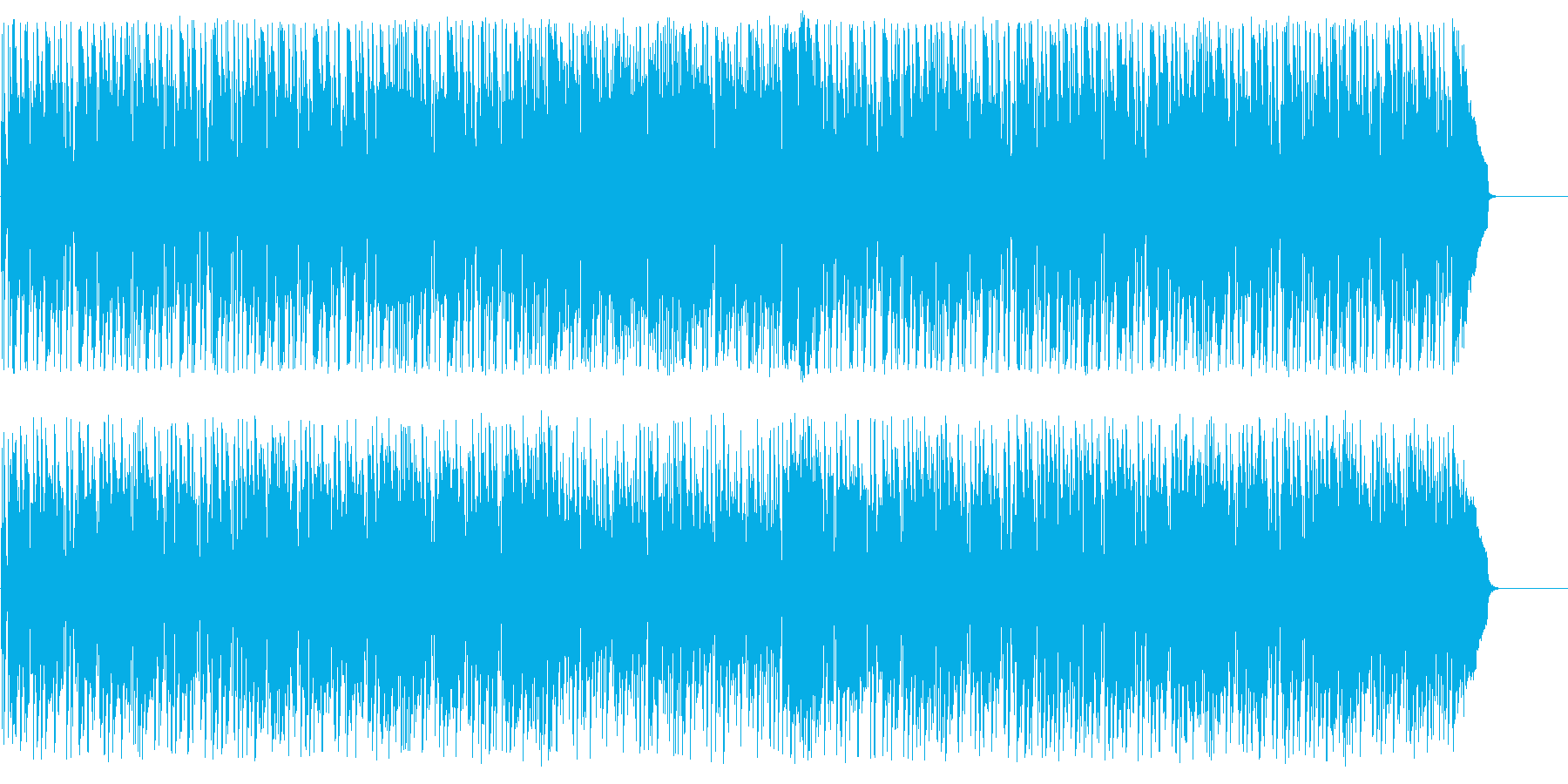 都会 CM 情報 ショッピングの再生済みの波形
