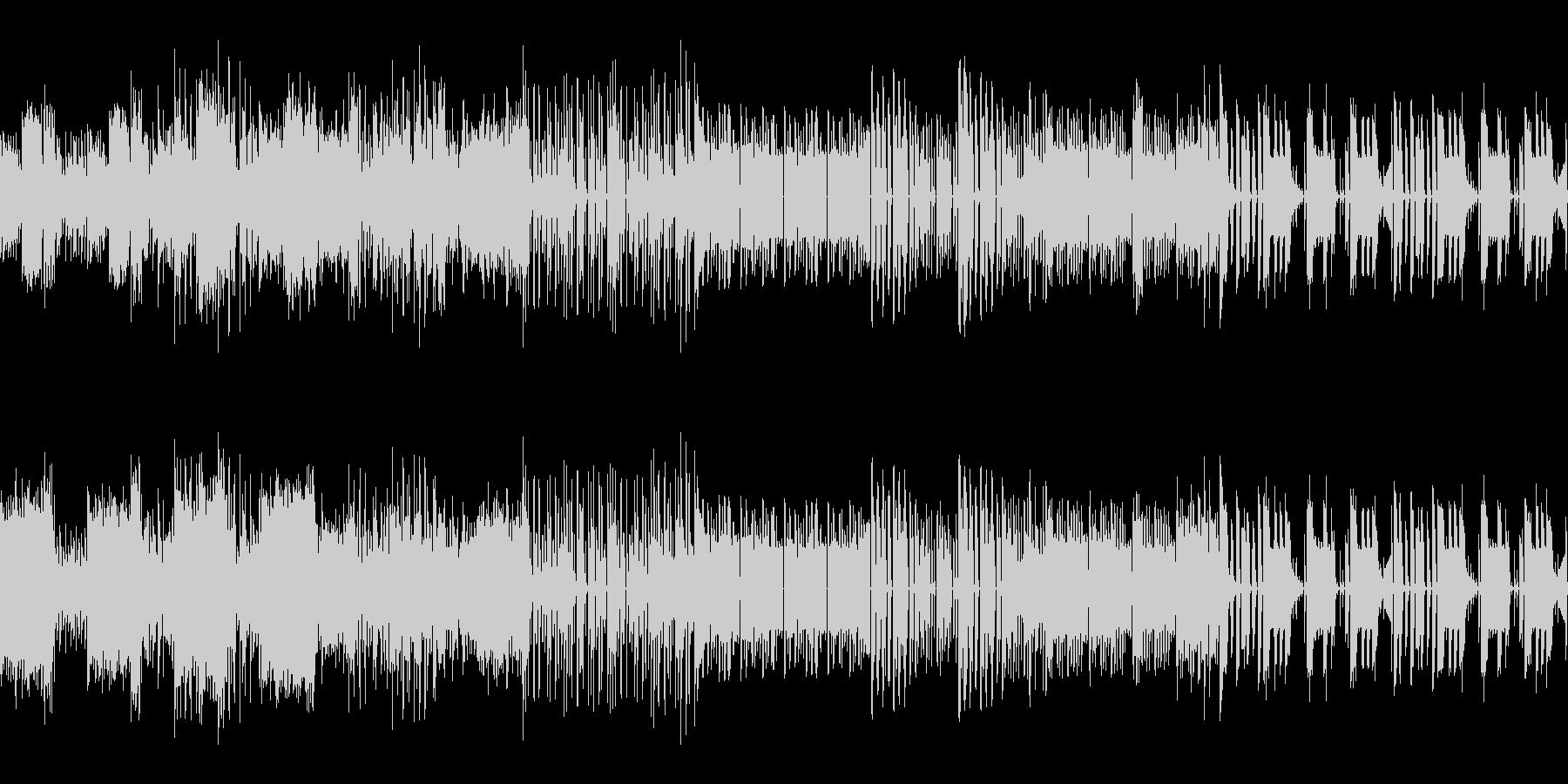 ビート重視のチップチューンの未再生の波形