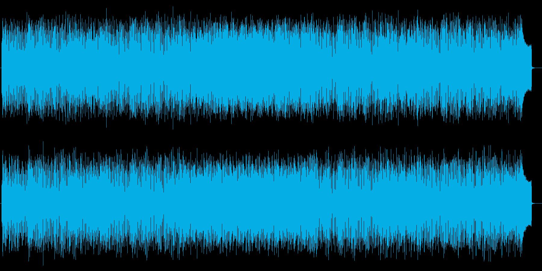 爽快で明るいピアノポップサウンドの再生済みの波形