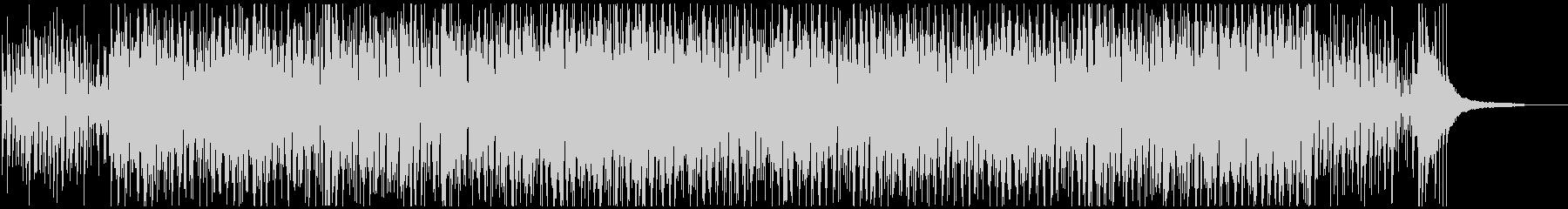 疾走感あるおしゃれなピアノジャズボサノバの未再生の波形