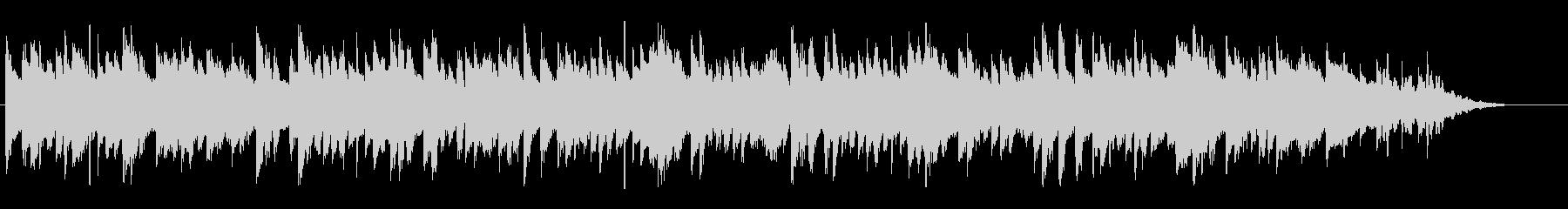 陽気で明るいコミカルな曲の未再生の波形