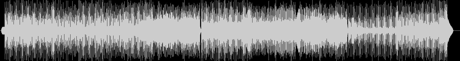 軽やかなトランペットシンセサイザー曲の未再生の波形