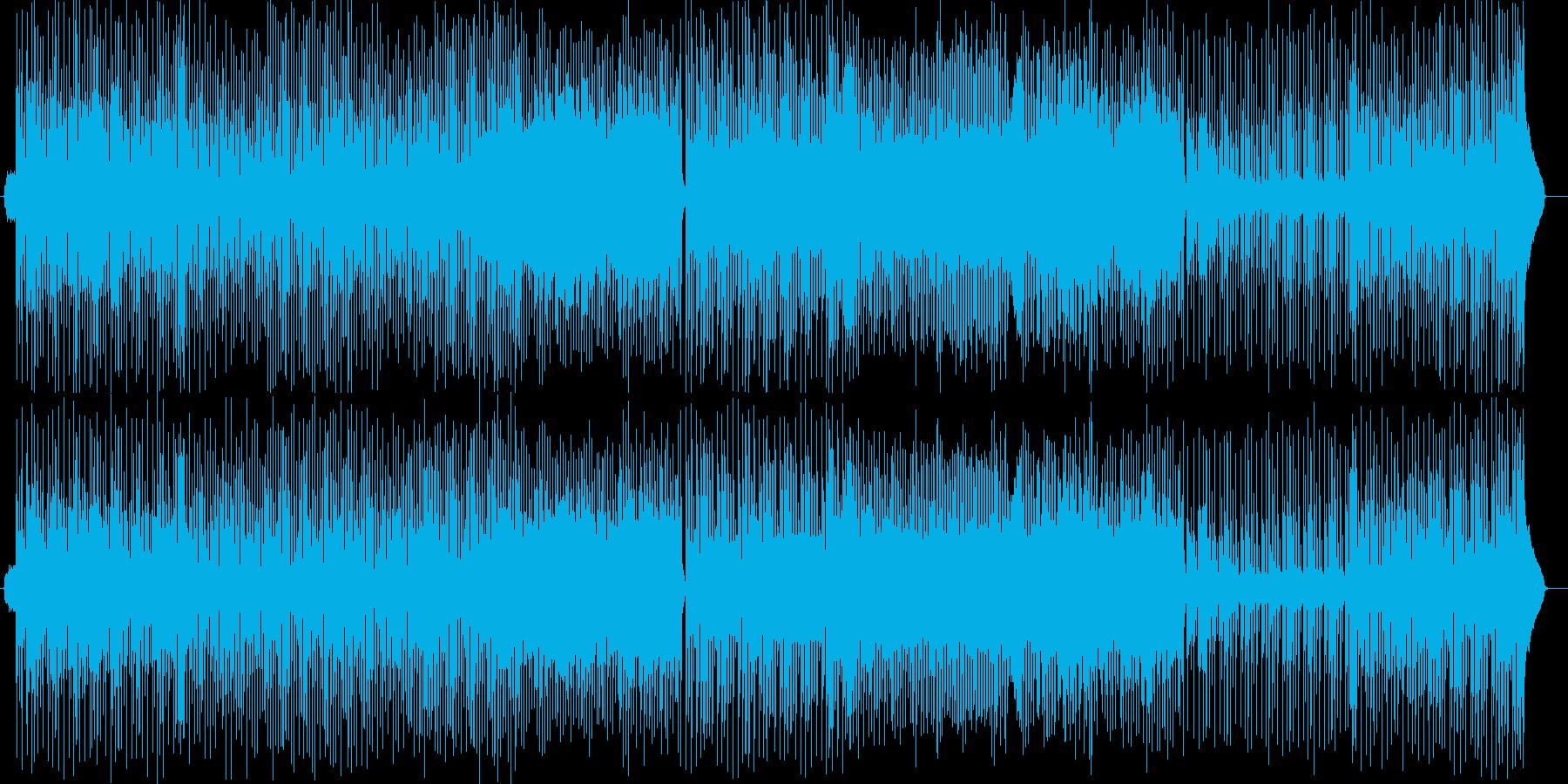 軽やかなトランペットシンセサイザー曲の再生済みの波形
