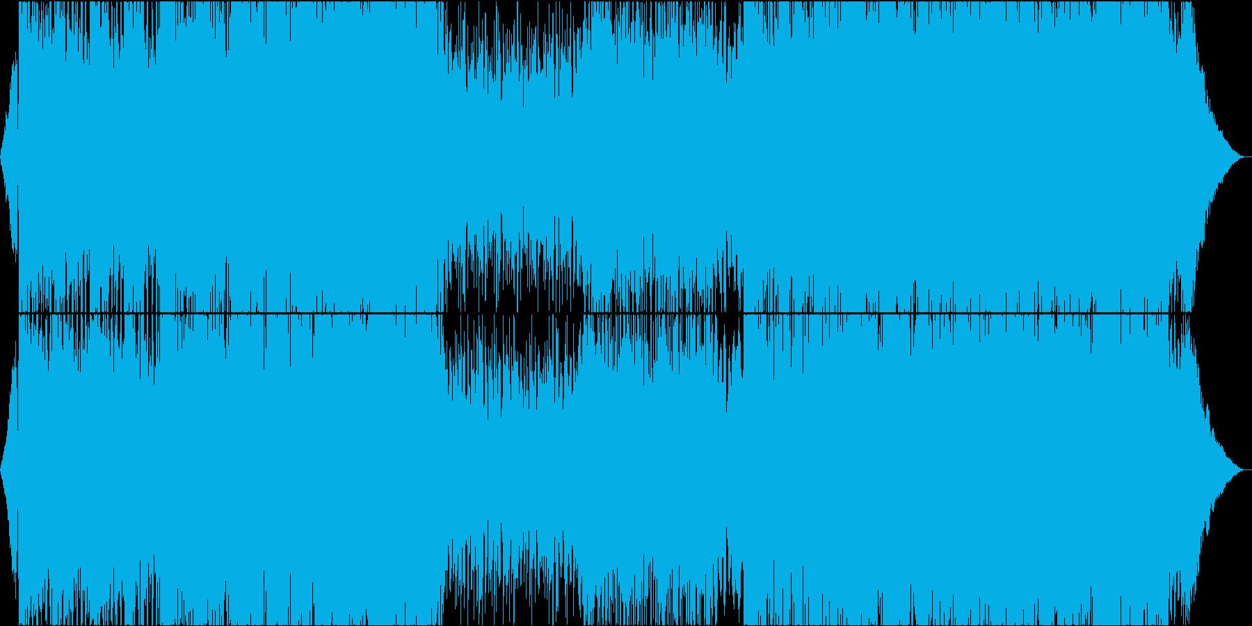 爽やかポップEDM/ボーカルチョップ②の再生済みの波形